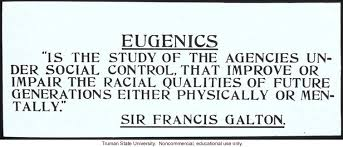 essays on eugenics francis galton Sir francis galton, frs (/ galton invented the term eugenics in 1883 and set down many of his observations and conclusions in a book.